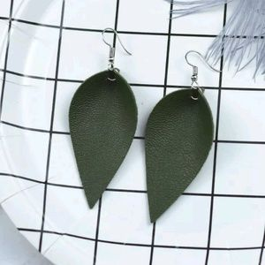 Jewelry - 3 for $15 Leather Earrings